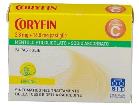 coryfin -24-pastiglie -gusto-limone