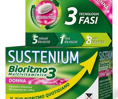 sustenium-bioritmo-3-donna-multivitaminico-30-compresse