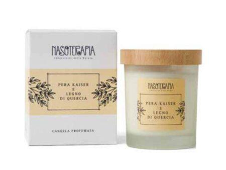 candela-profumata-pera-kaiser-legno -di -quercia